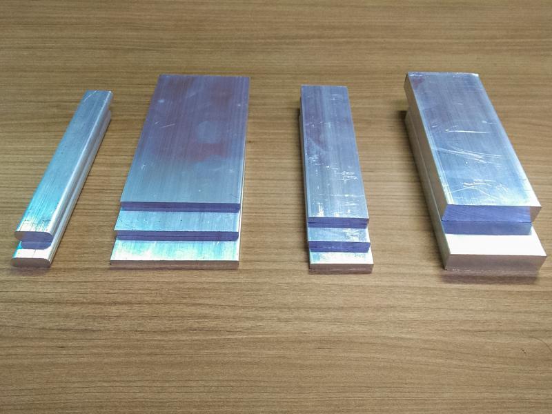 Barra chata de aluminio fabricante