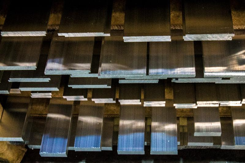 Fabricante de barra chata de aluminio