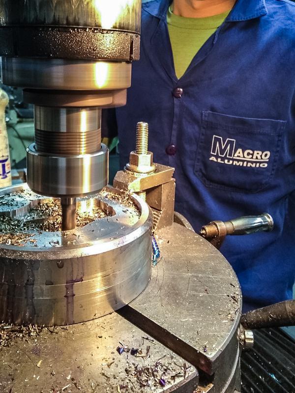 Ferramentas para extrusão de alumínio