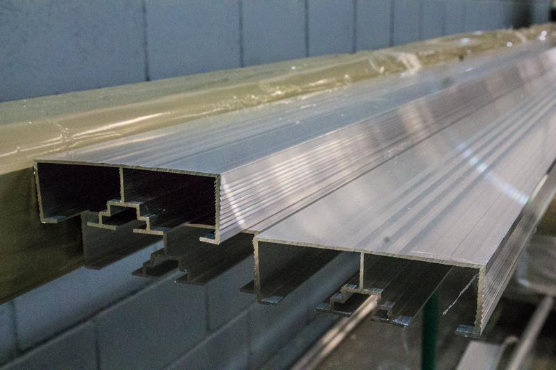 Perfil aluminio para bau