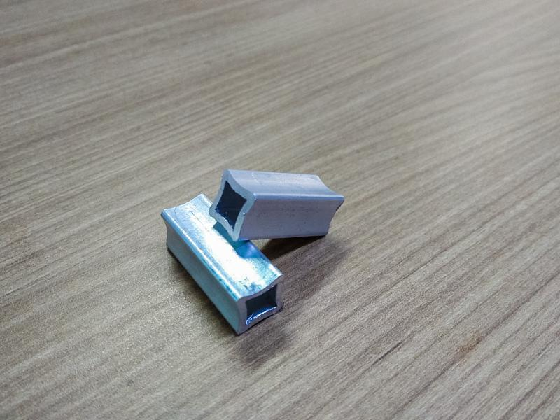 Perfil de aluminio para cerca eletrica